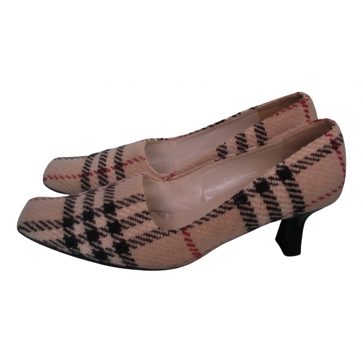 Burberry - Escarpins   pour femme en tweed - beige