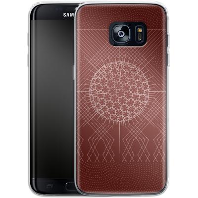 Samsung Galaxy S7 Edge Silikon Handyhuelle - Life System von Daniel Martin Diaz