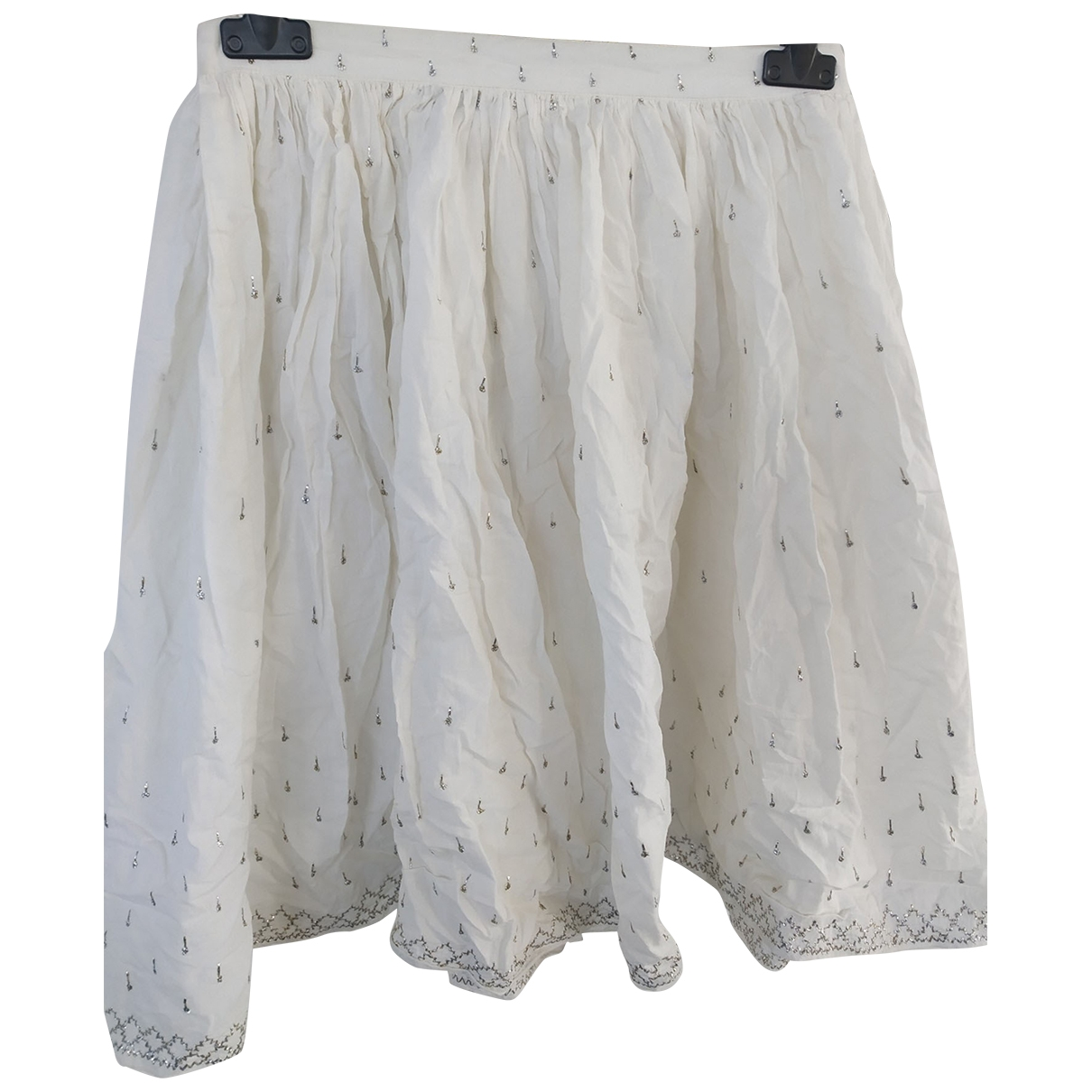 Patrizia Pepe - Jupe   pour femme en coton - blanc