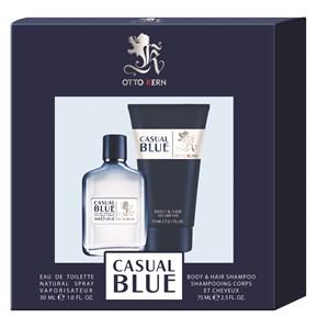 Otto Kern Casual Blue Geschenkset Eau de Toilette Spray 30 ml + Shower Gel 75 ml 1 Stk.