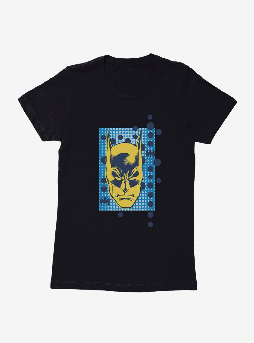 DC Comics Batman Head Pop Art Womens T-Shirt