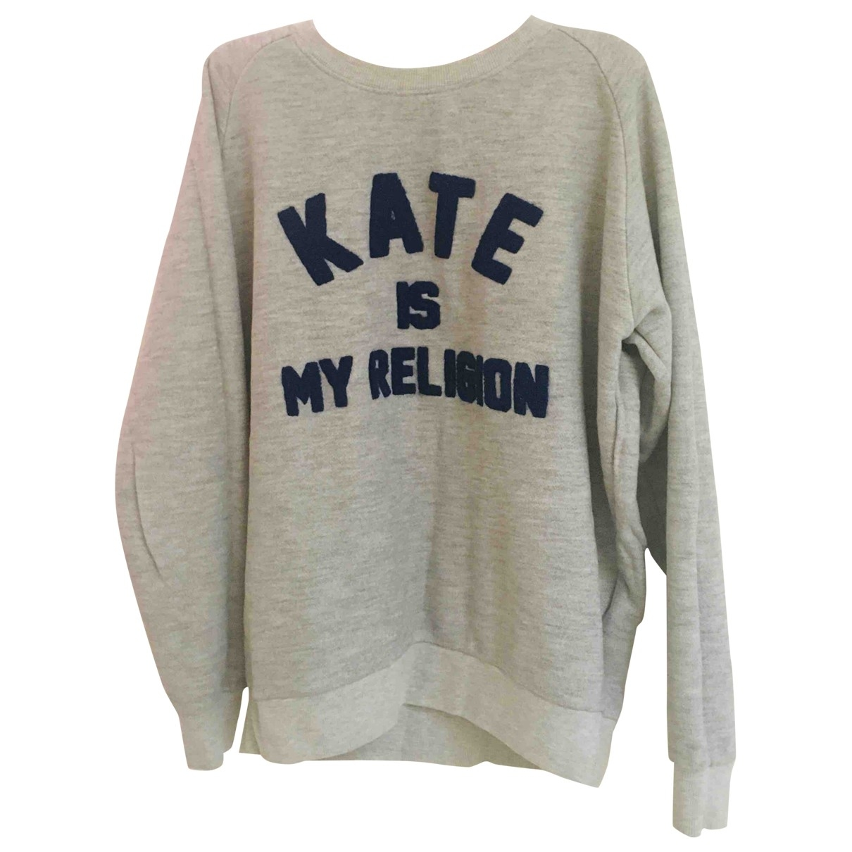 Eleven Paris \N Grey Cotton Knitwear for Women S