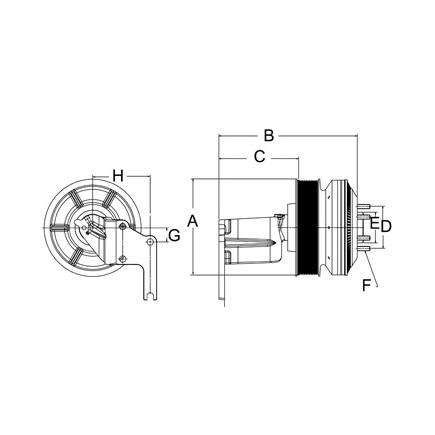 Horton 79A8601 - Reman, Clutch Drive Master Advantage Se 24 Cum,12 P