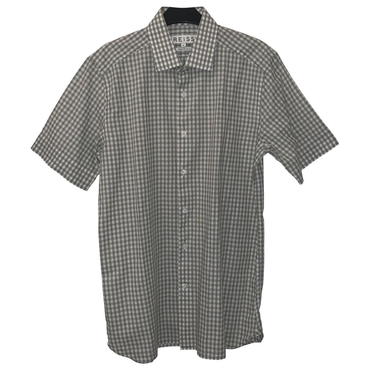 Reiss - Chemises   pour homme en coton - blanc