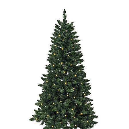 Kurt Adler 4 1/2 Foot Pine Pre-Lit Christmas Tree, One Size , Multiple Colors