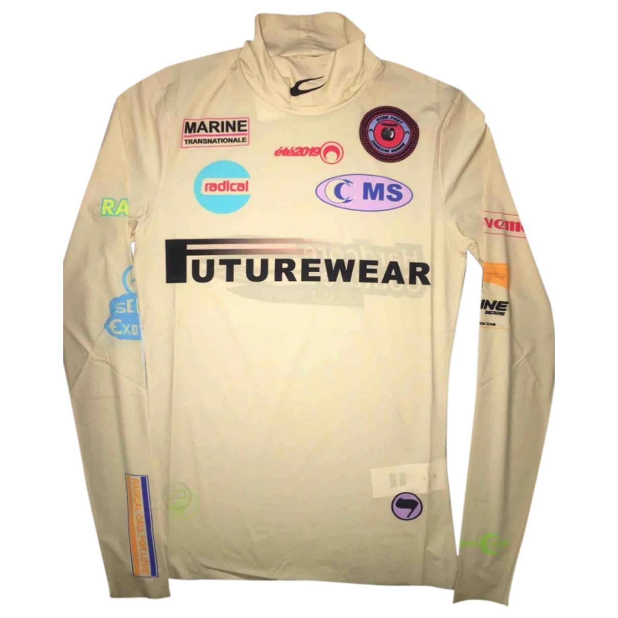 Marine Serre \N Top in  Beige Polyester