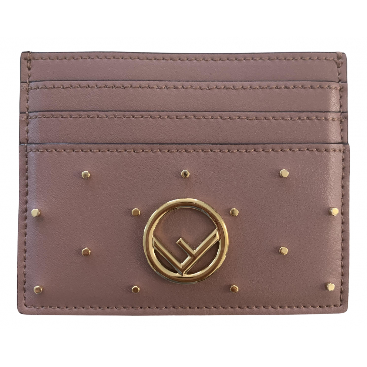 Fendi \N Pink Leather Purses, wallet & cases for Women \N