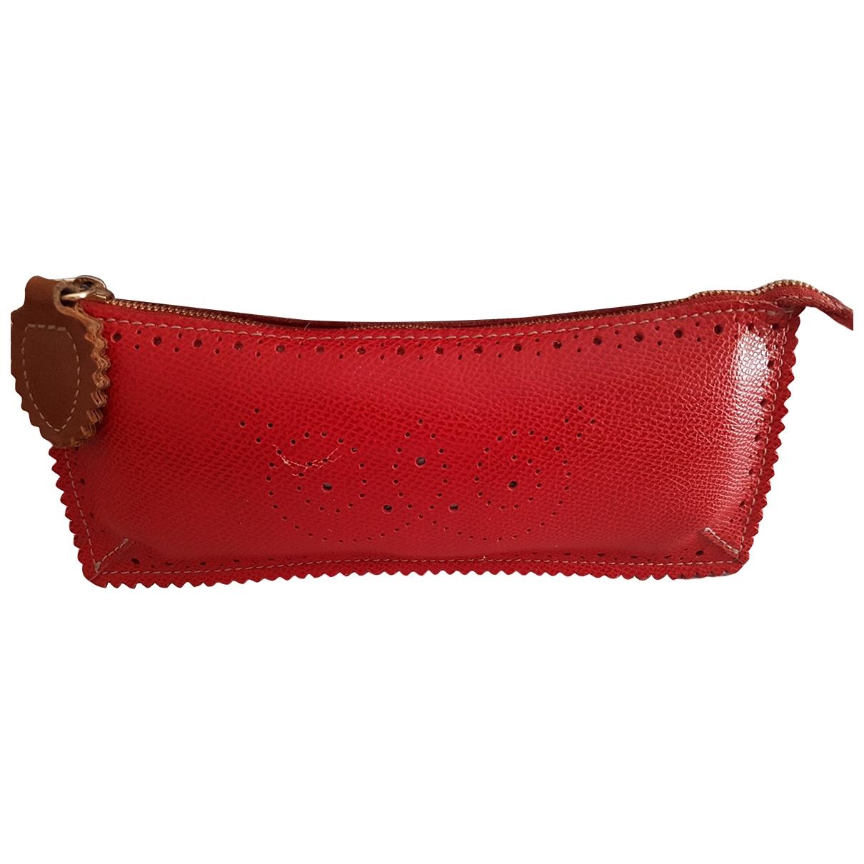 Furla \N Kleinlederwaren in  Rot Leder