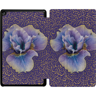 Amazon Fire HD 8 (2018) Tablet Smart Case - Iris Drawing Meditation von Kaitlyn Parker