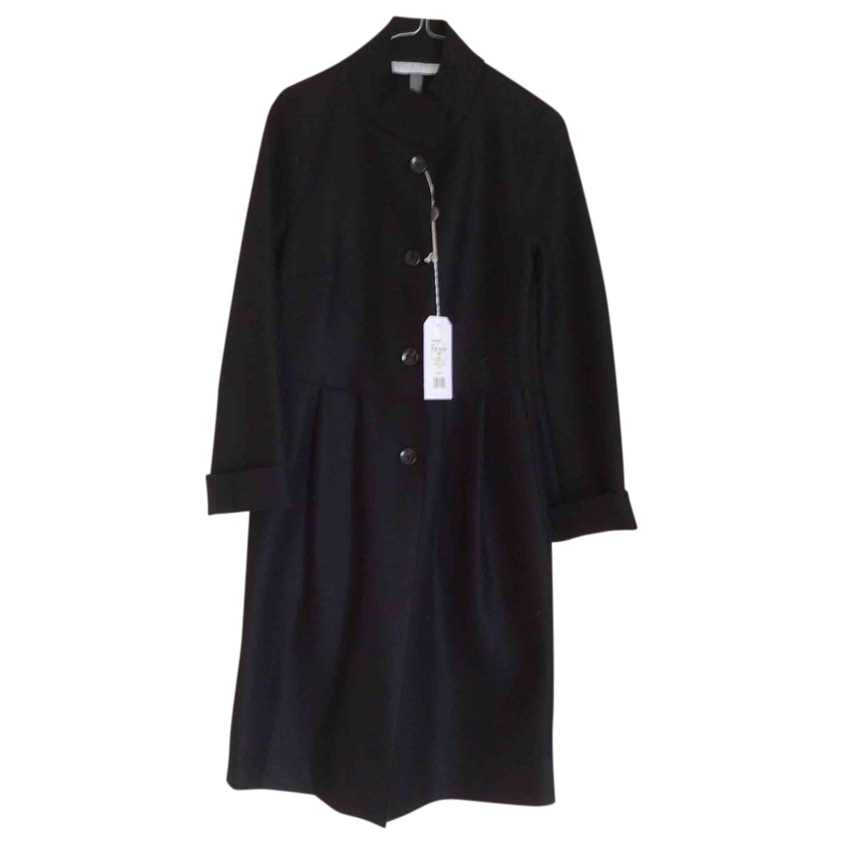 Harris Wharf London - Manteau   pour femme en laine - noir