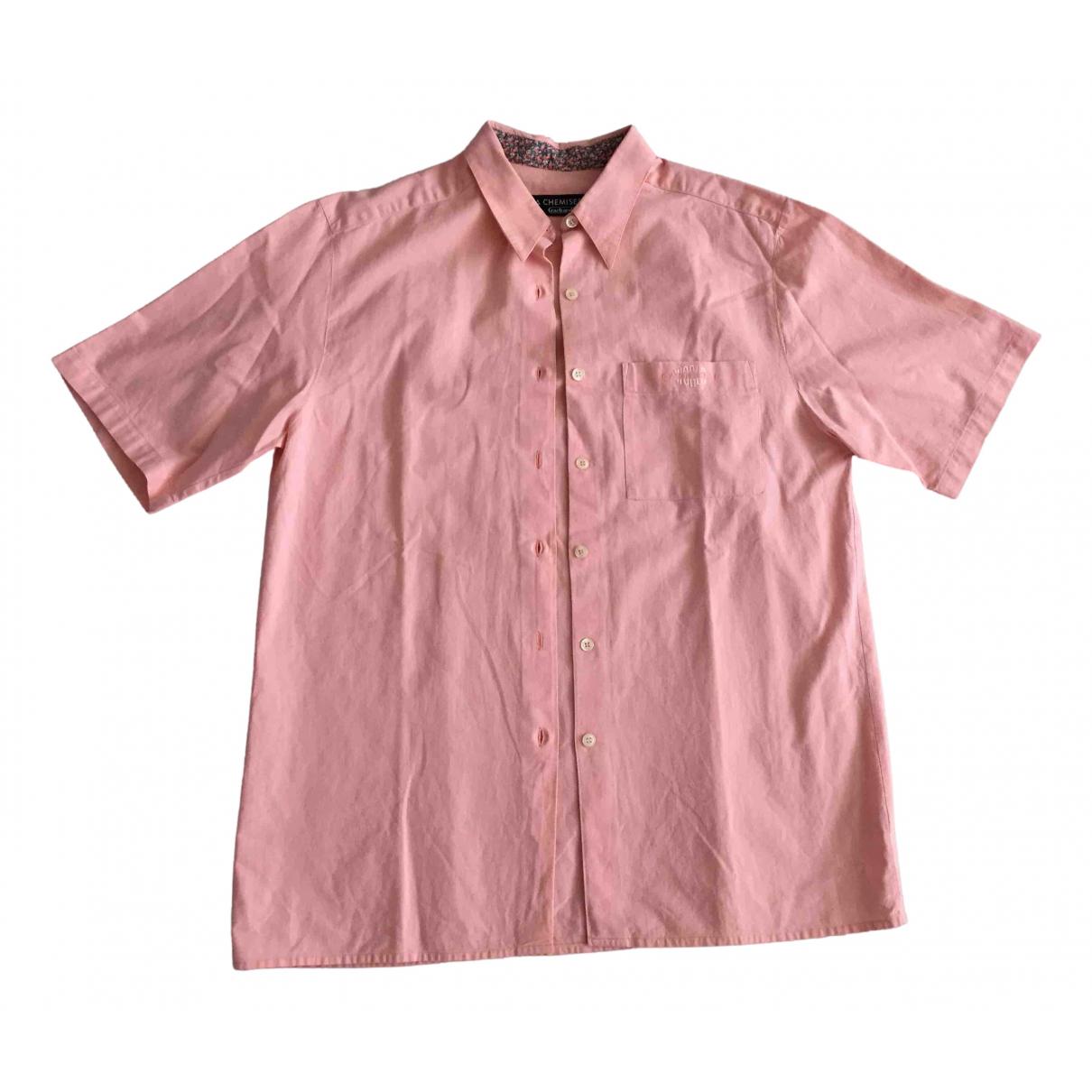 Cacharel - Top   pour femme en lin - rose