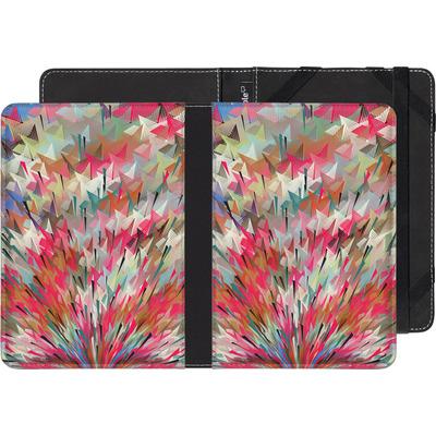 Pocketbook Touch Lux eBook Reader Huelle - Black Pigment Explosion von Danny Ivan