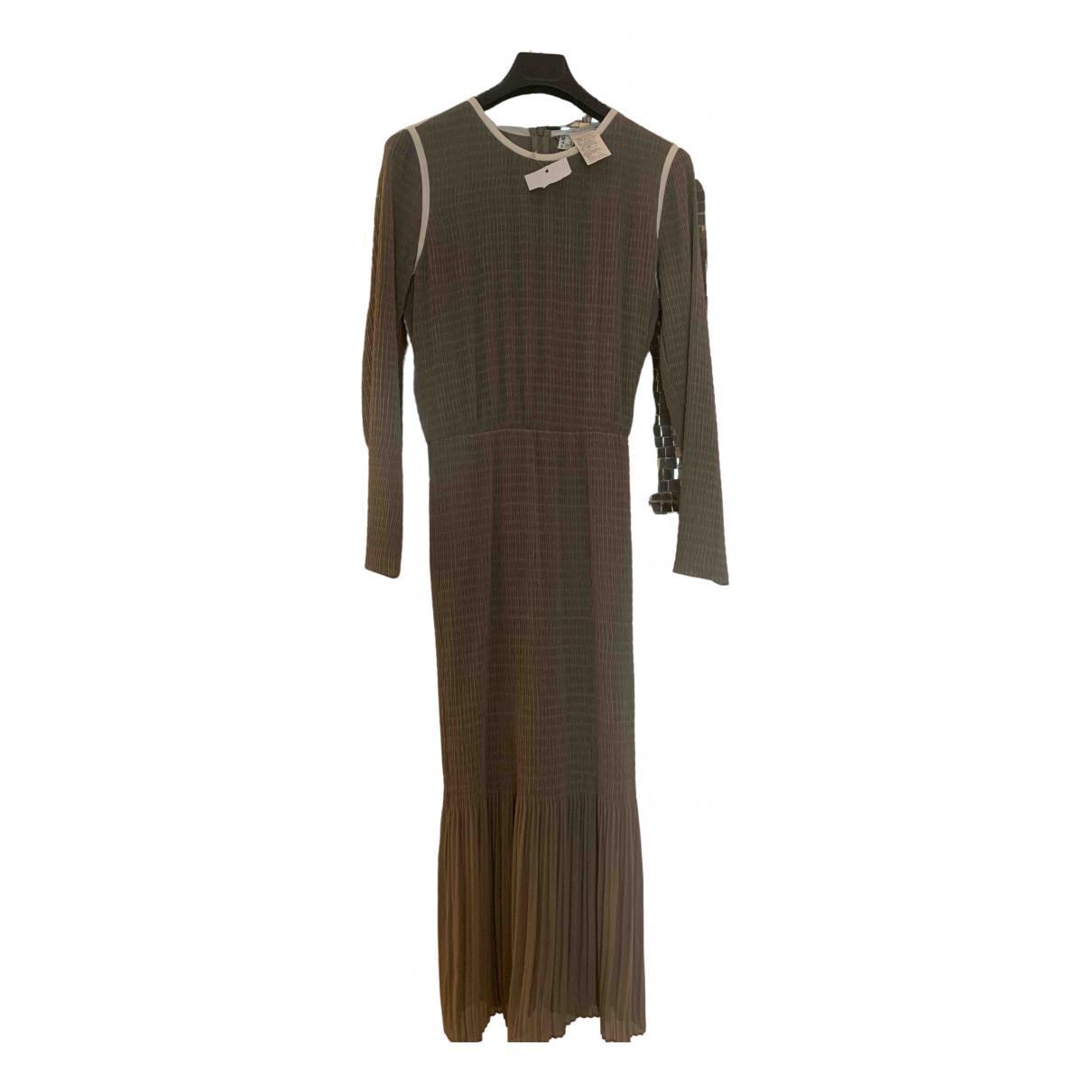 Intrend \N Kleid in  Beige Seide