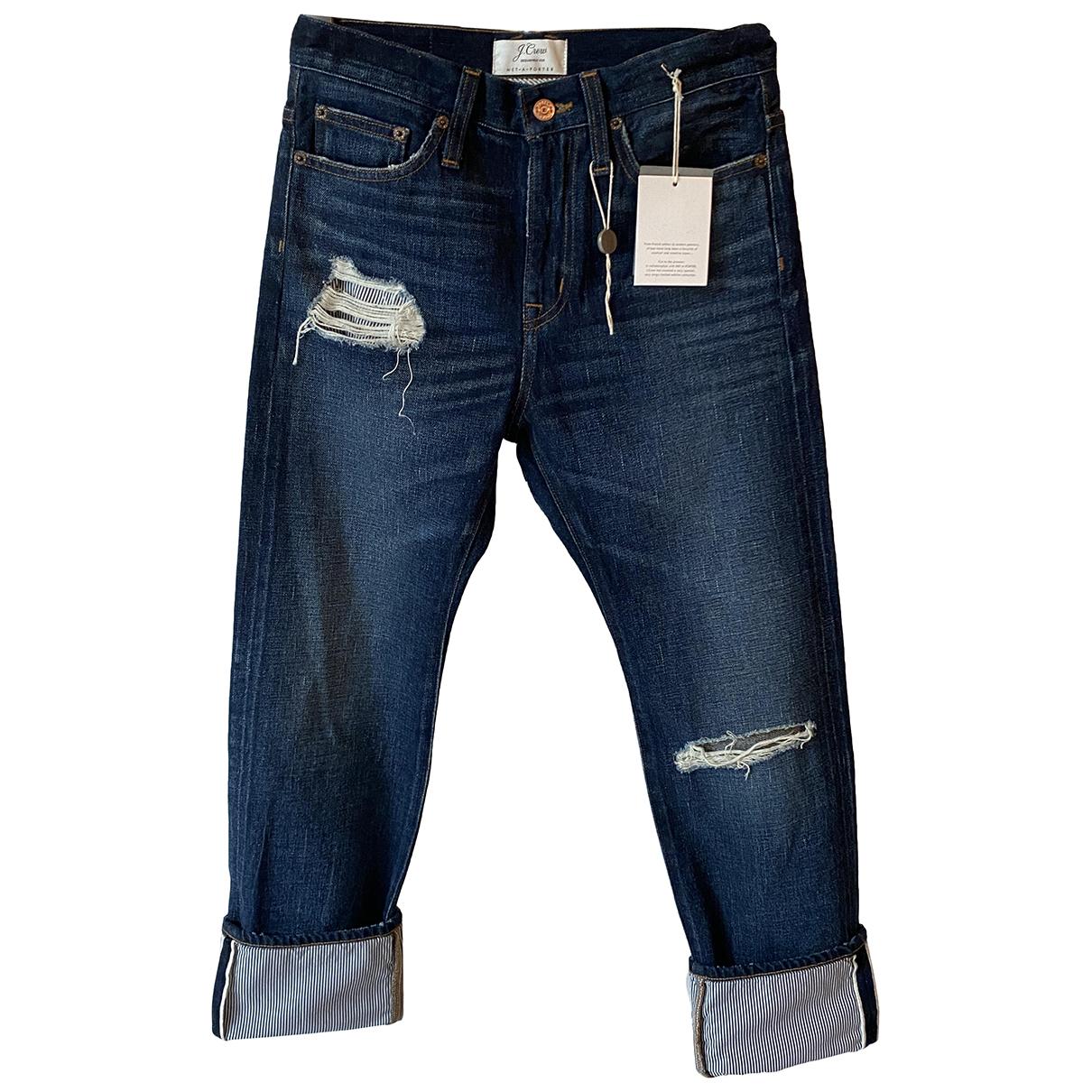 J.crew N Blue Cotton Jeans for Women 25 US