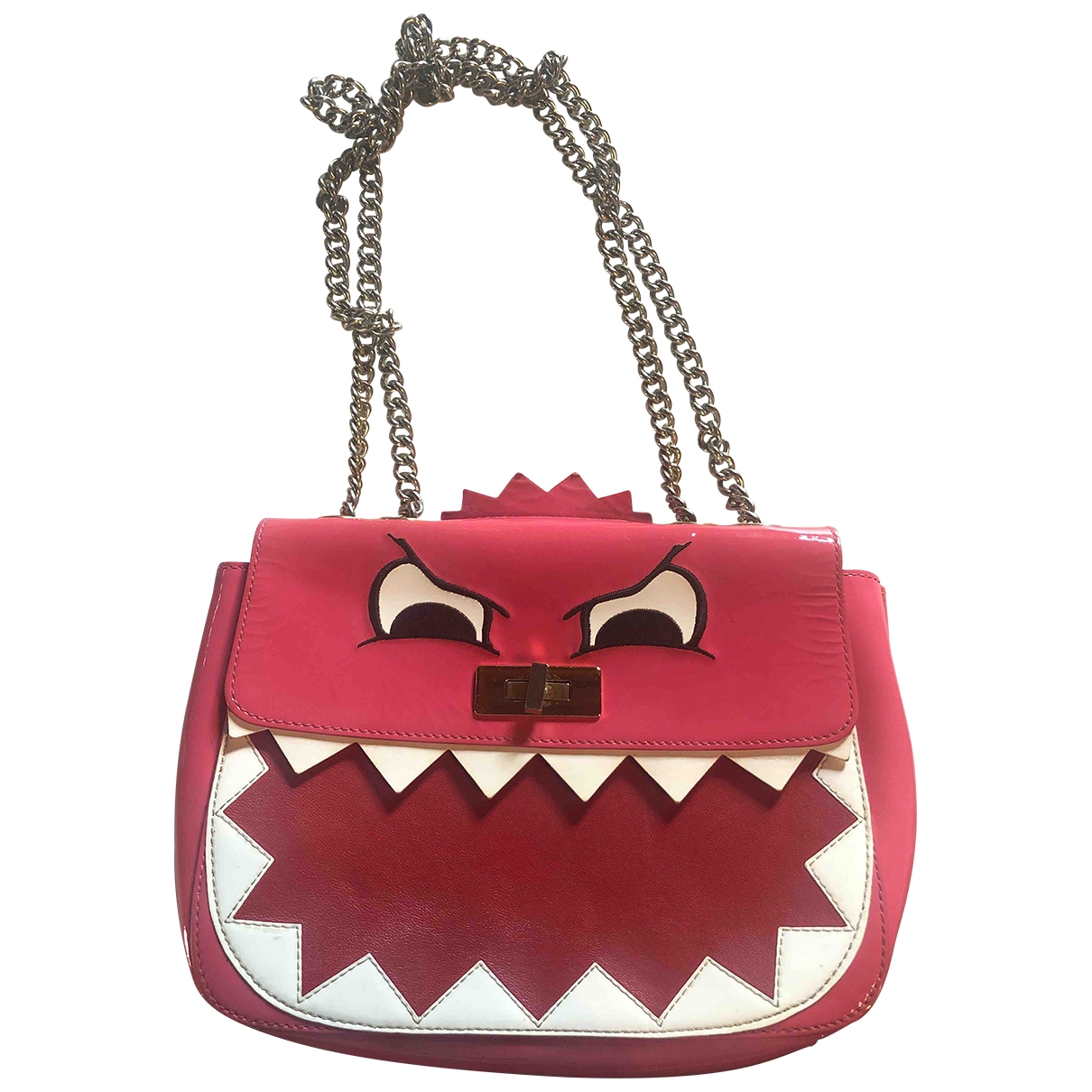 Moschino Cheap And Chic \N Pink Patent leather handbag for Women \N