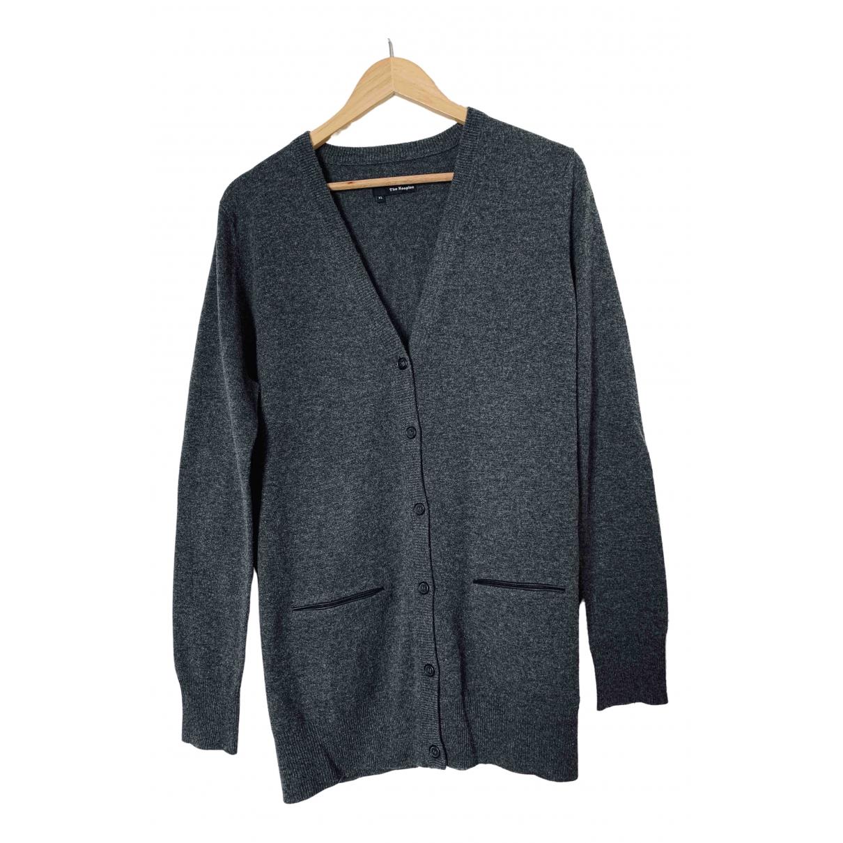 The Kooples \N Pullover.Westen.Sweatshirts  in  Schwarz Baumwolle