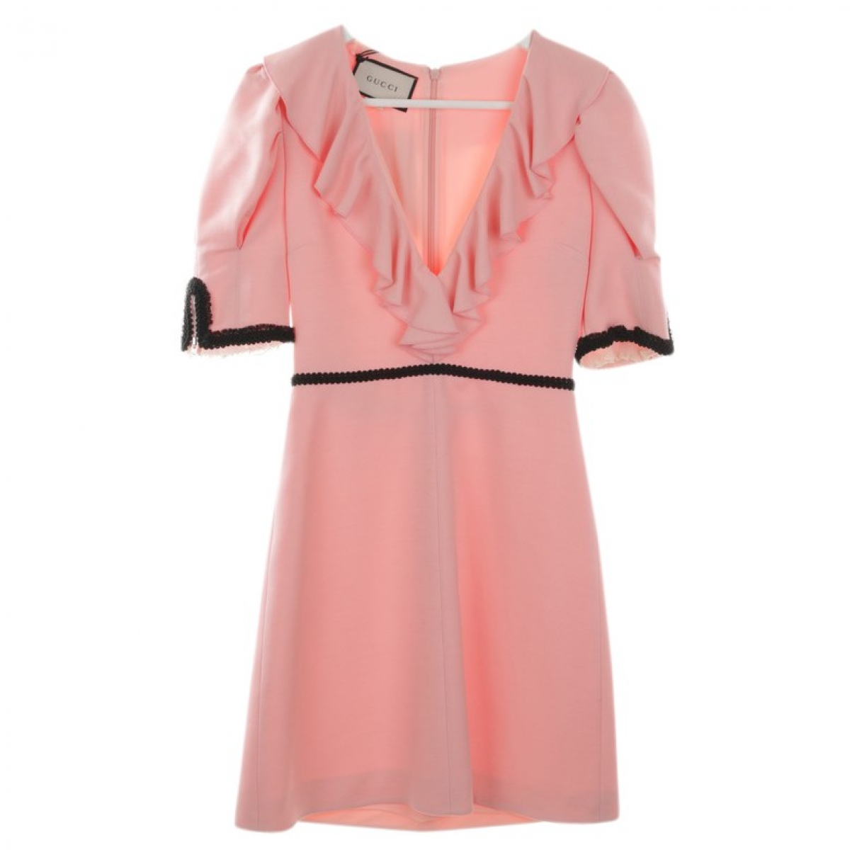 Gucci - Robe   pour femme en soie - rose