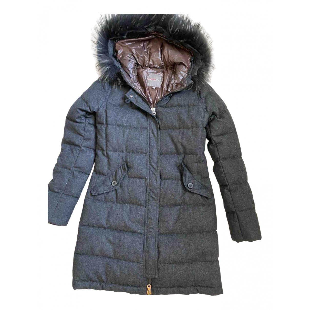 Duvetica \N Grey Wool coat for Women 42 IT