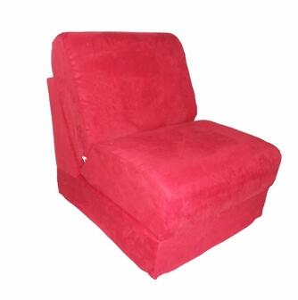 51232 Teen Chair With Pillow Red Micro