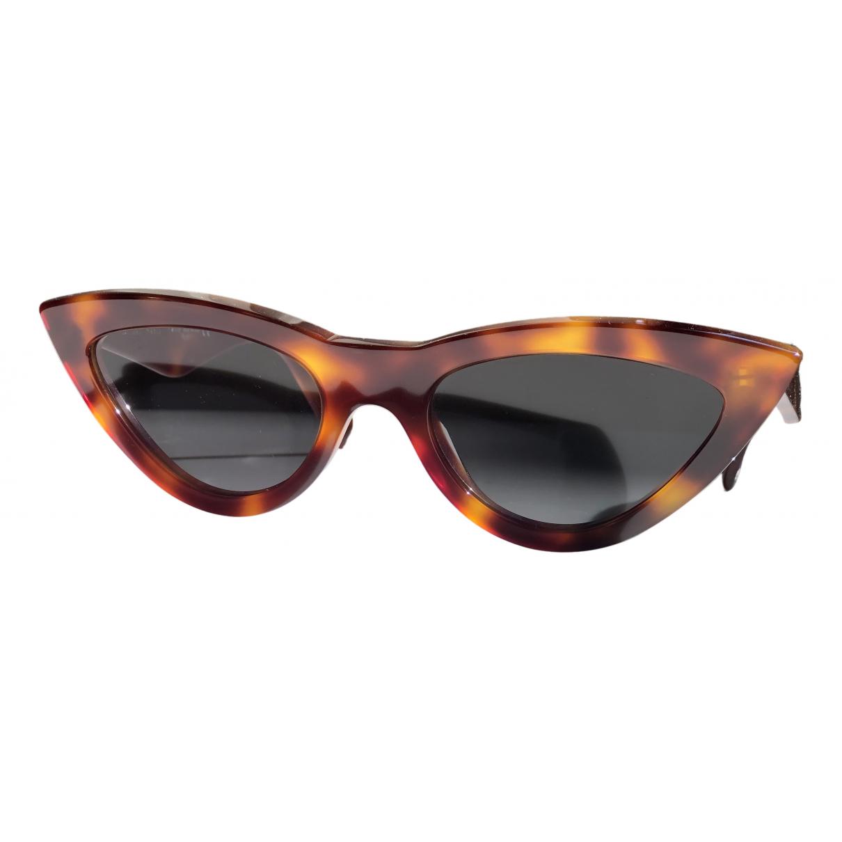 Celine Caty Brown Sunglasses for Women N