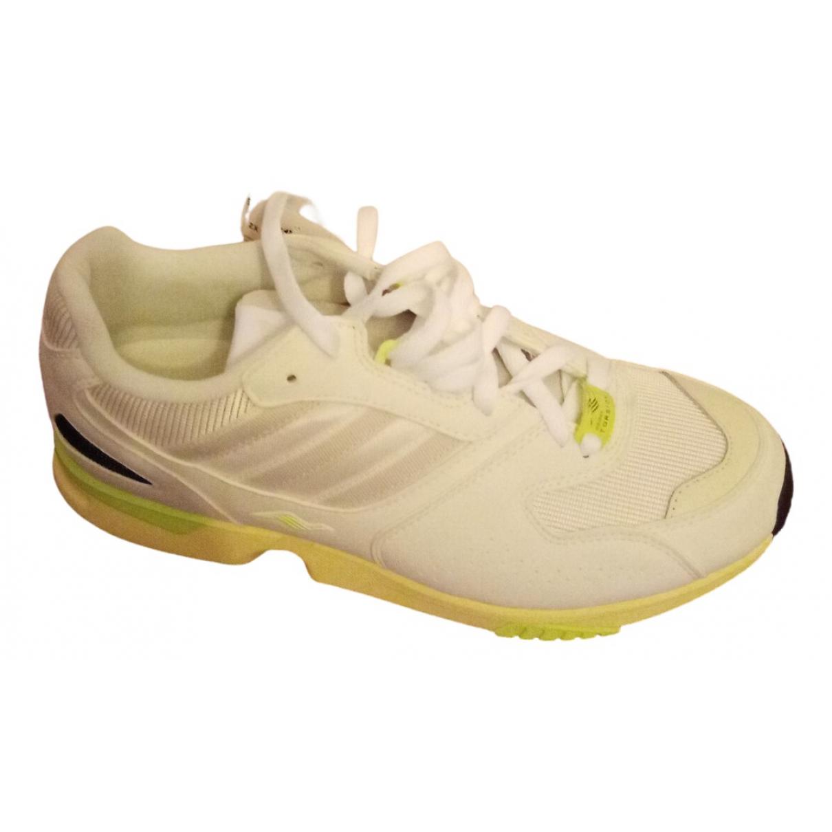 Adidas - Baskets ZX pour homme en cuir - blanc