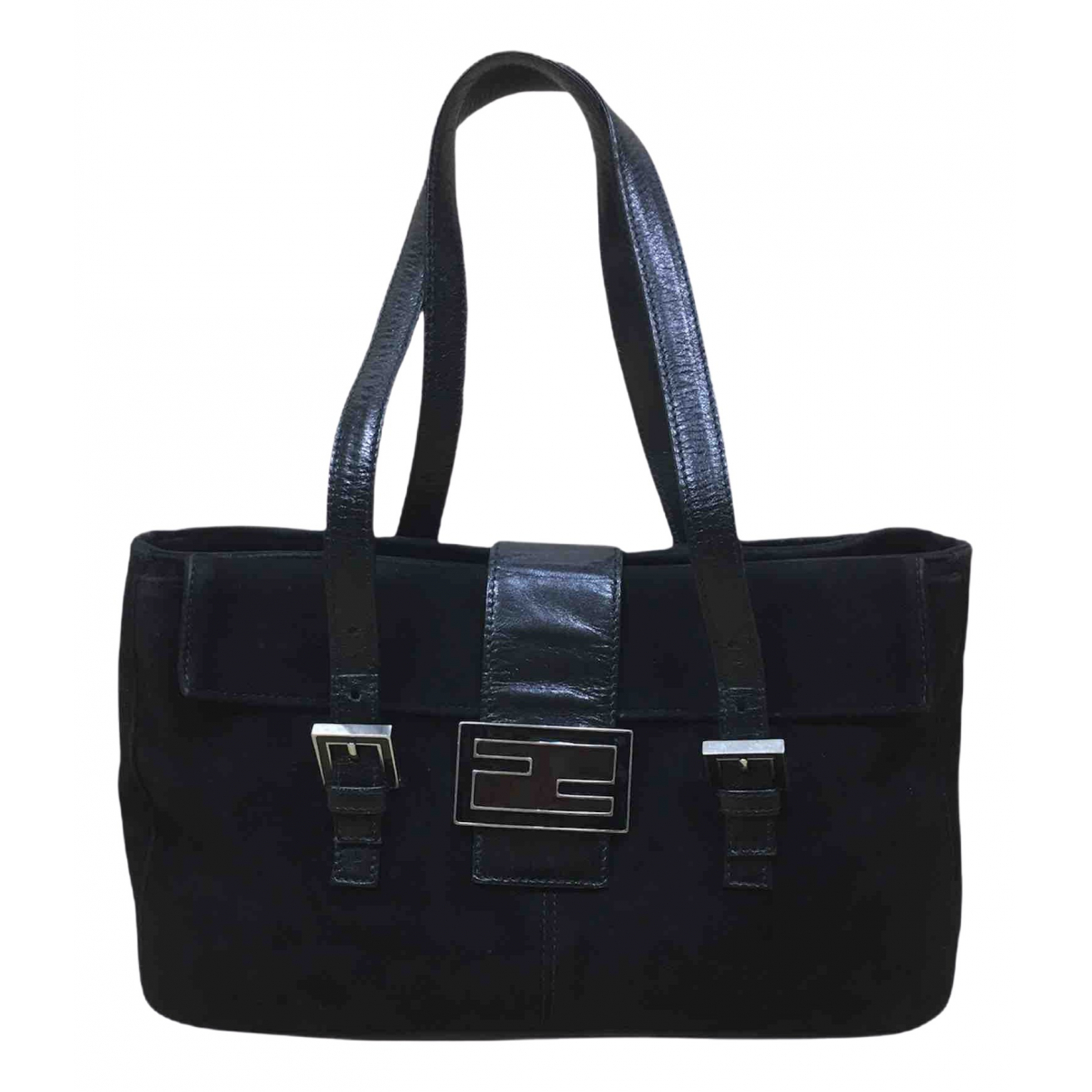 Fendi \N Black Cloth handbag for Women \N