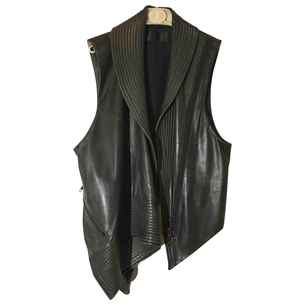 Haider Ackermann \N Black Leather jacket for Women 38 FR