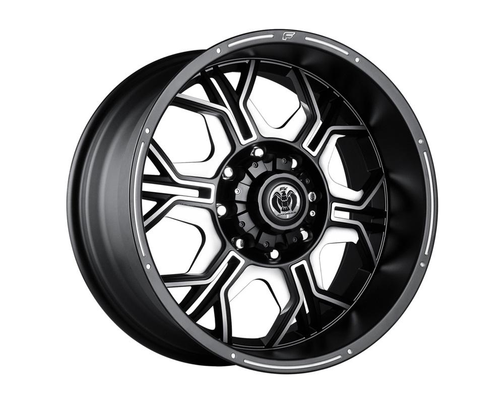 FK Ethos ORC95217017 ORC952 Black Ball Cut Machined Wheel 17x8.5 5x150 12