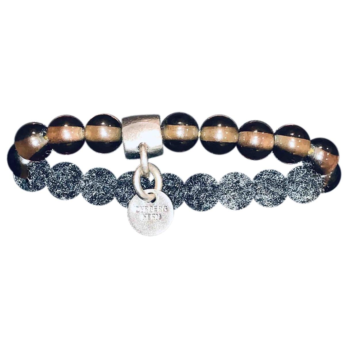 Dyrberg/kern \N Brown Metal bracelet for Women \N