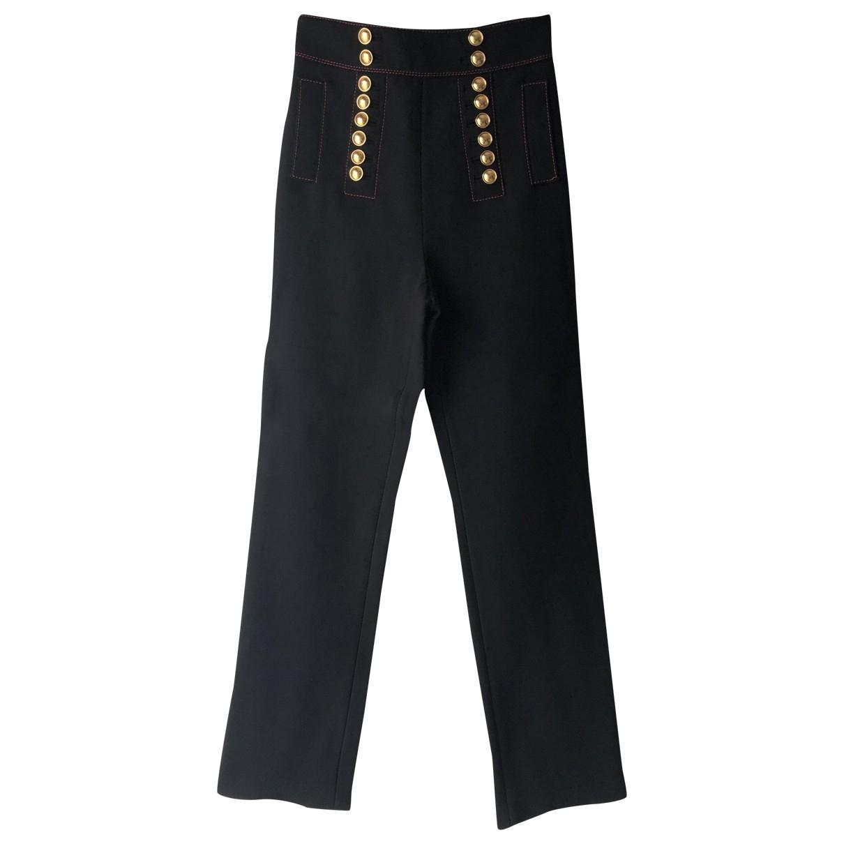 Burberry \N Black Trousers for Women 42 IT