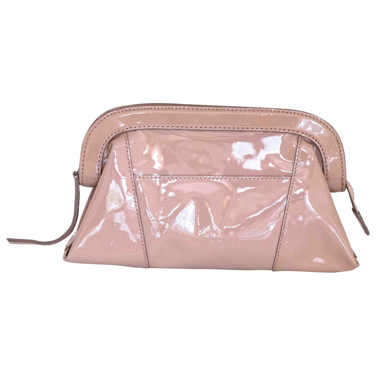 Club Monaco \N Pink Leather Clutch bag for Women \N
