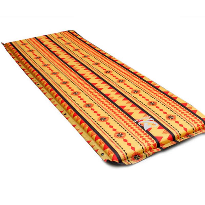 Light Single Double Outdoor Camping Sleeping Air Mattress Mat Pad Bed