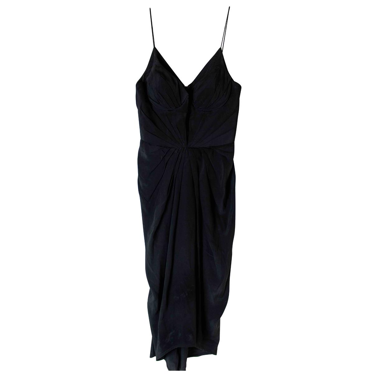 Zimmermann \N Black Silk dress for Women 0 0-5