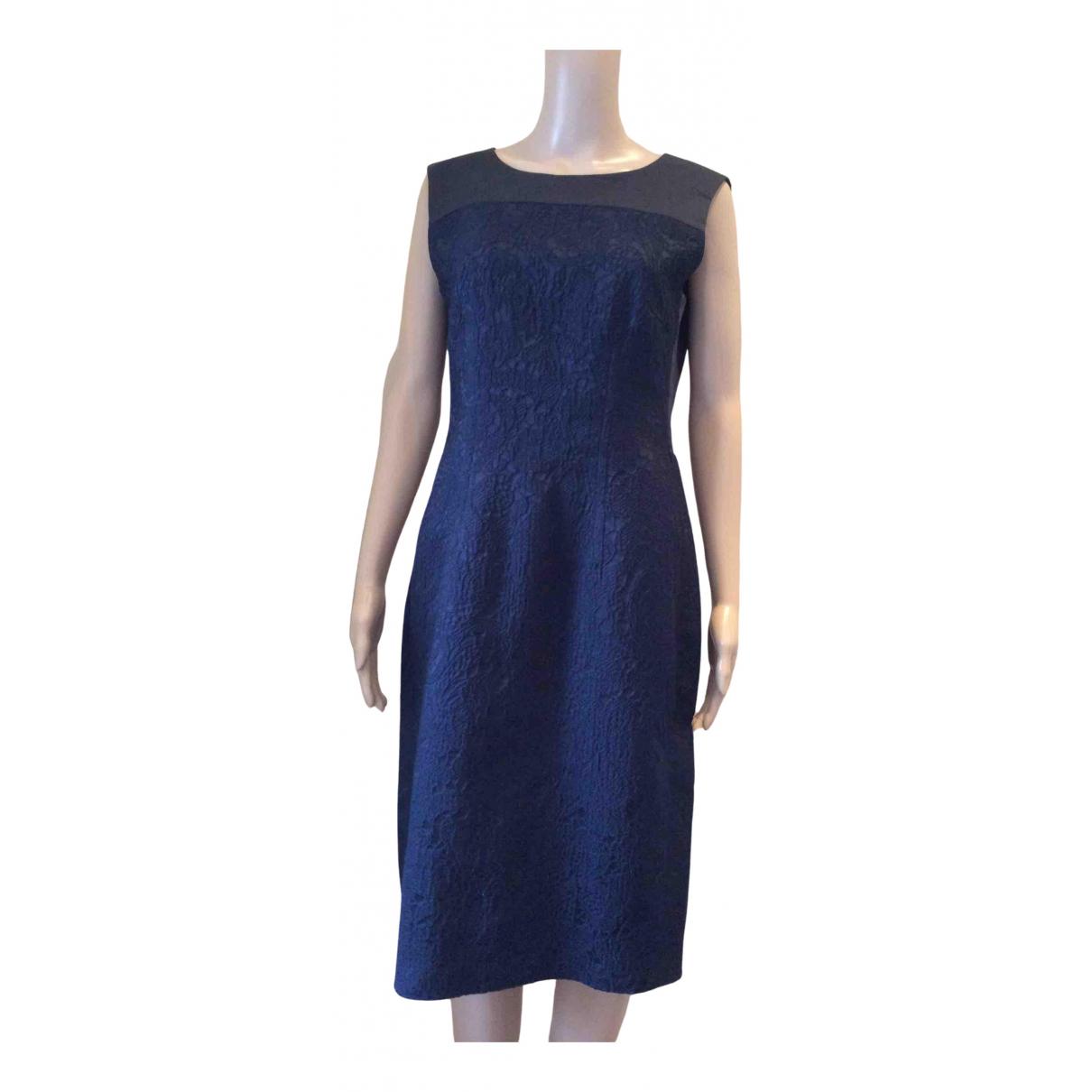 Max Mara \N Kleid in  Blau Synthetik