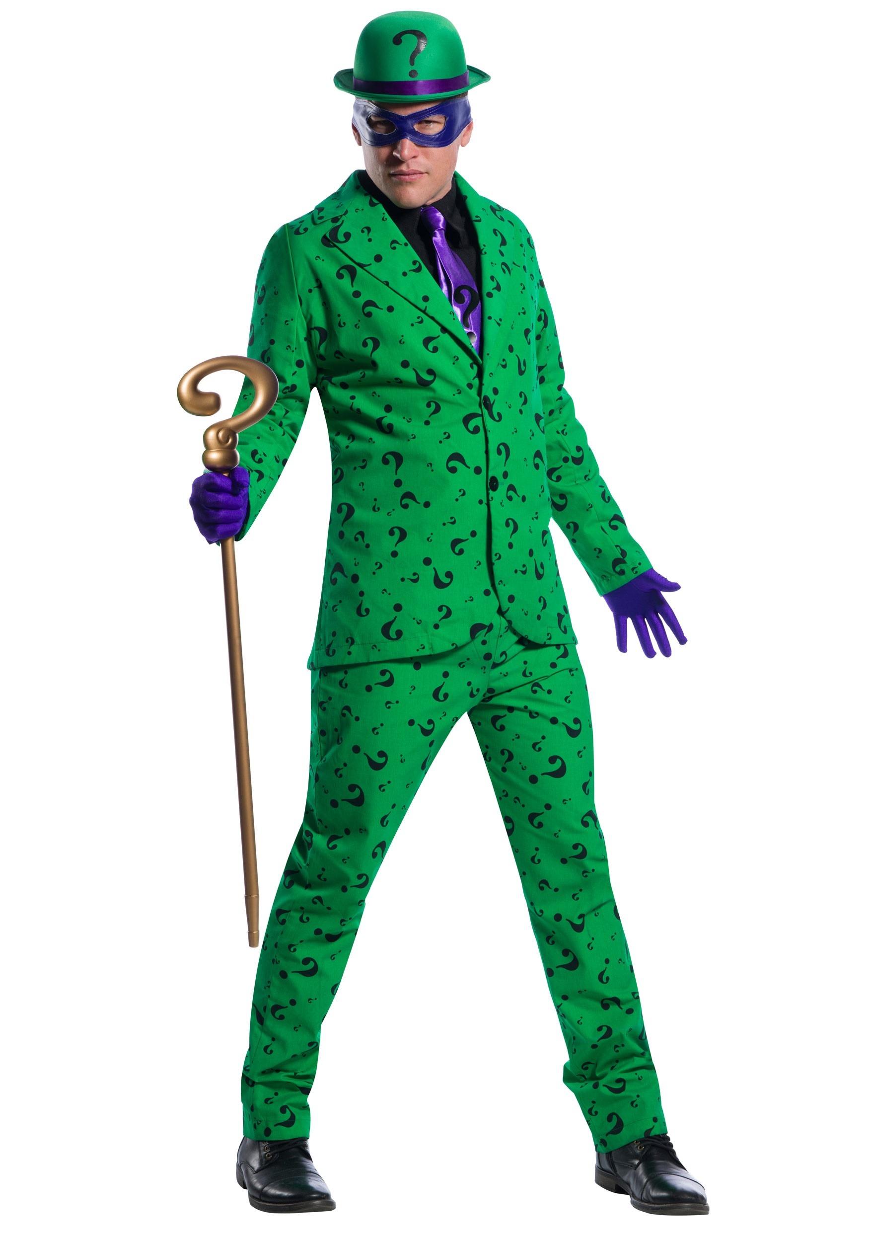 Riddler Men's Costume
