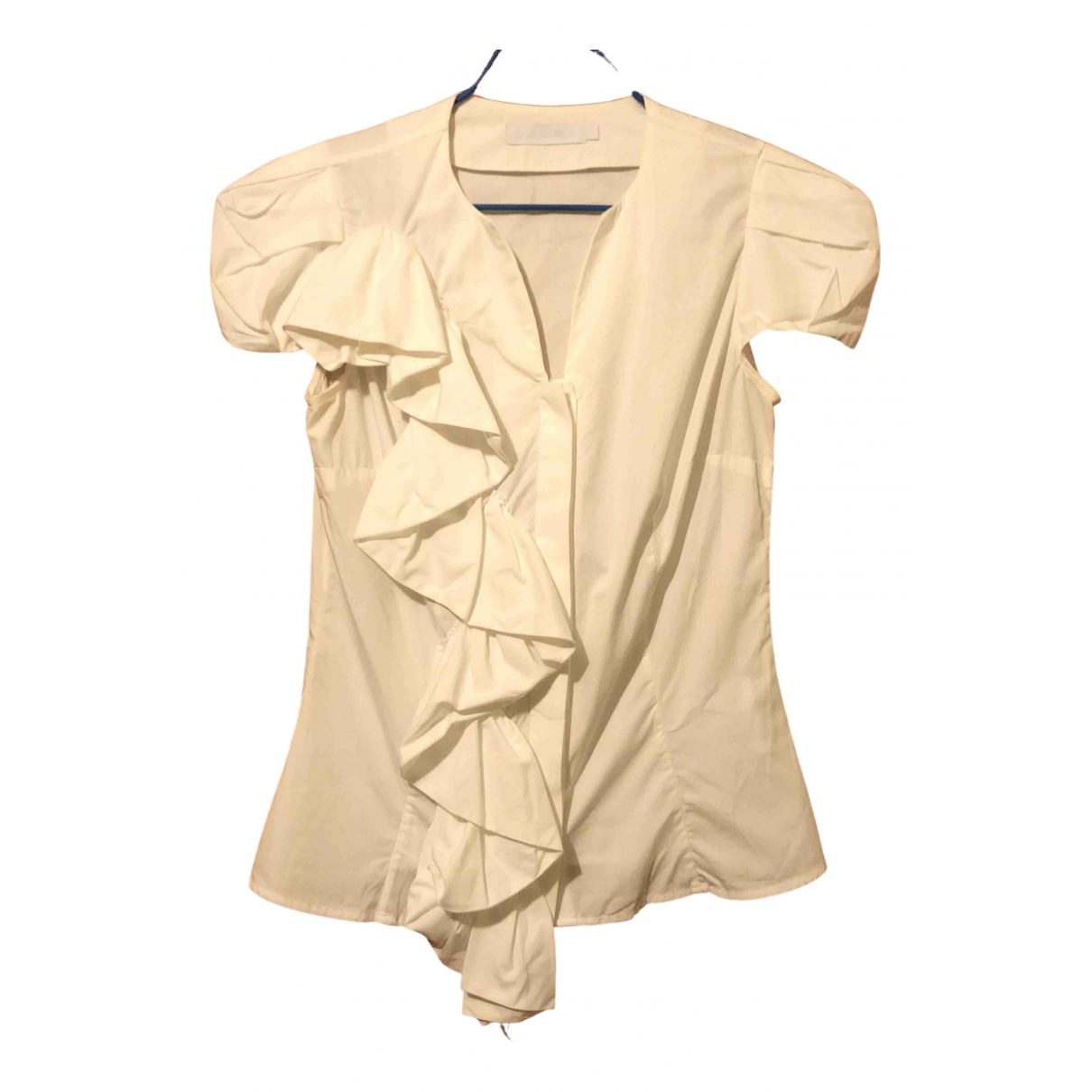 Anne Fontaine - Top   pour femme en coton - blanc