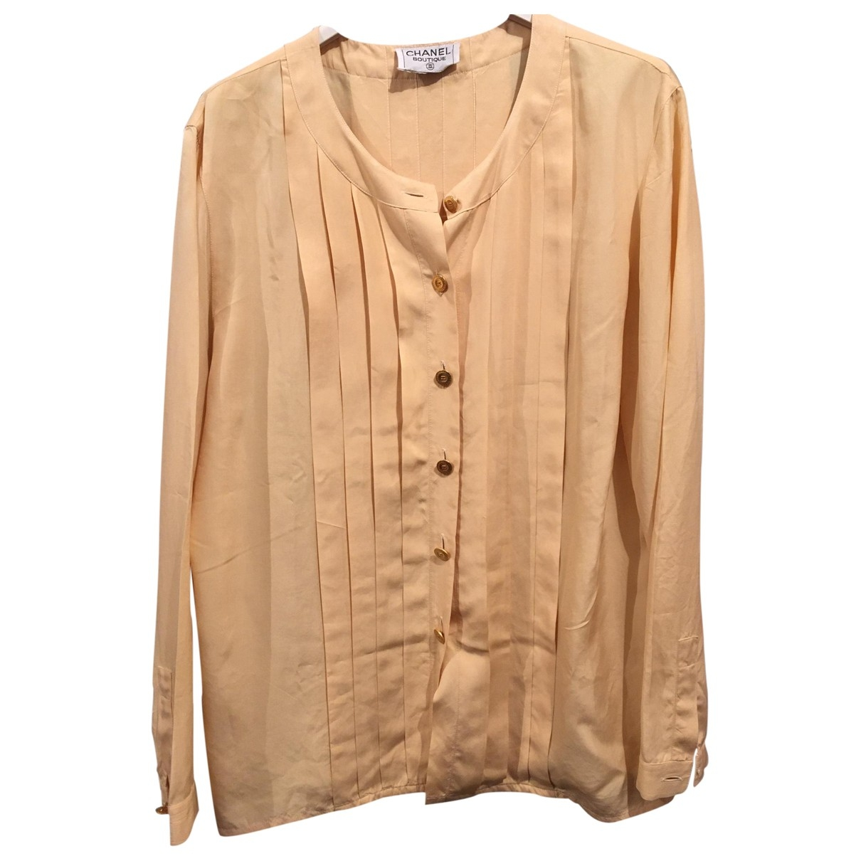 Chanel \N Yellow Silk  top for Women M International
