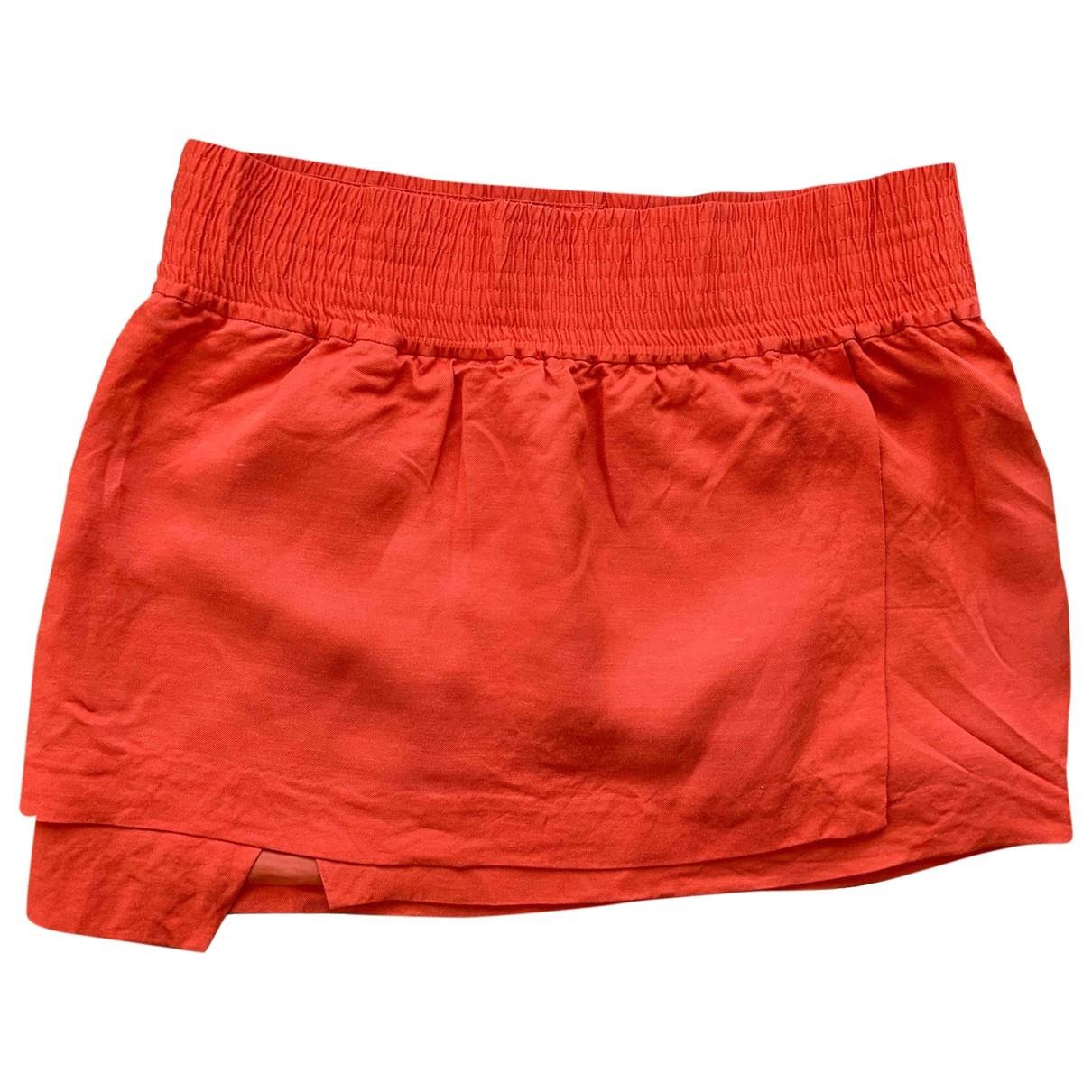 Acne Studios \N Orange skirt for Women 40 FR