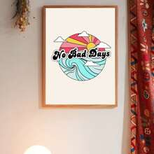 Slogan Graphic Wall Painting Without Frame