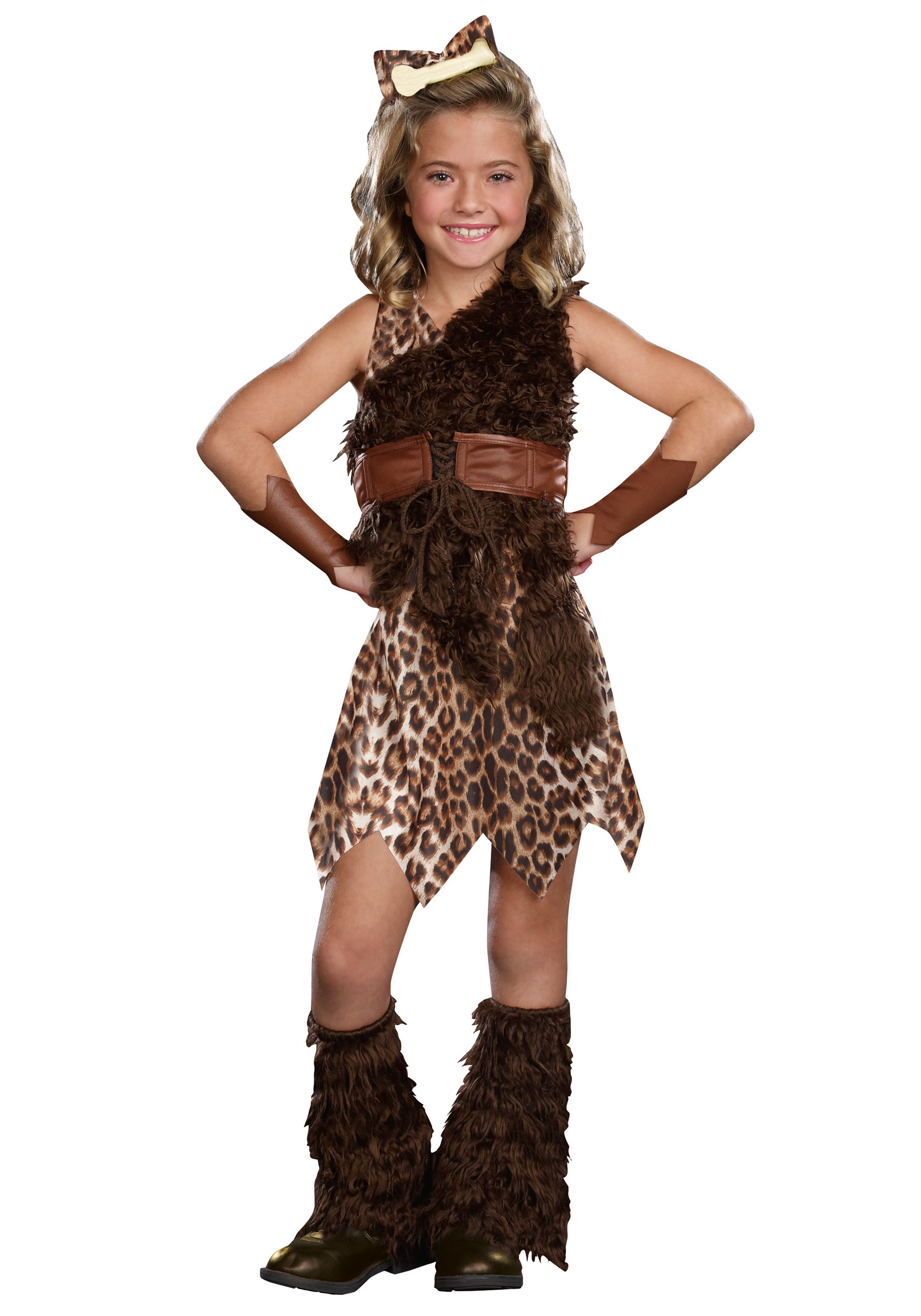 Cave Girl Cutie Costume for Girls | Decade Costume