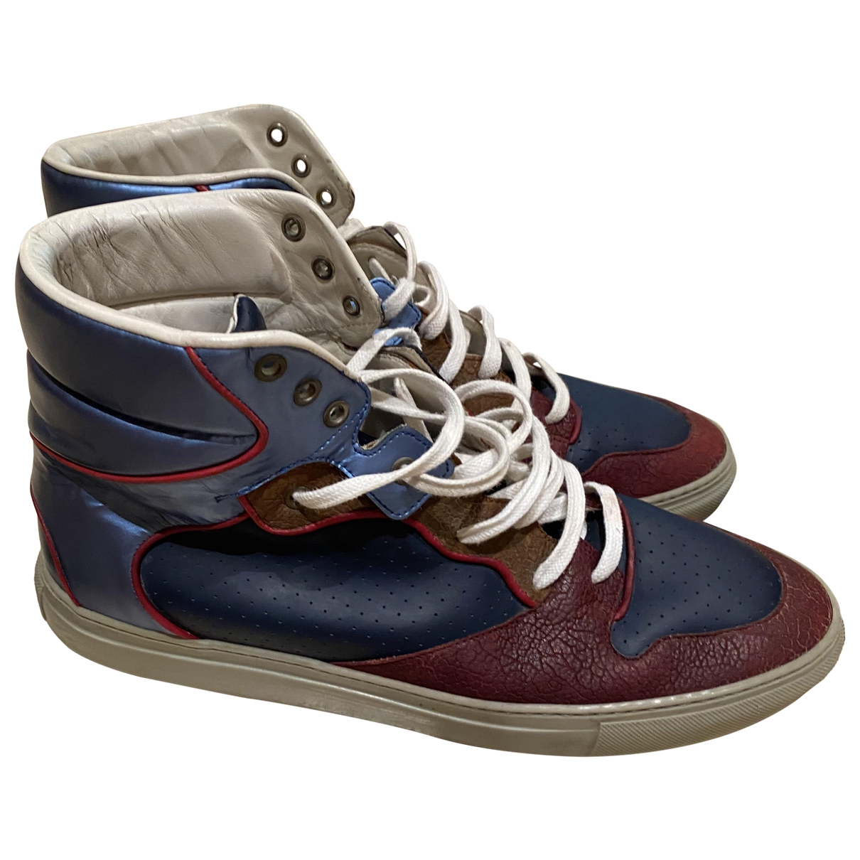 Balenciaga \N Sneakers in Leder