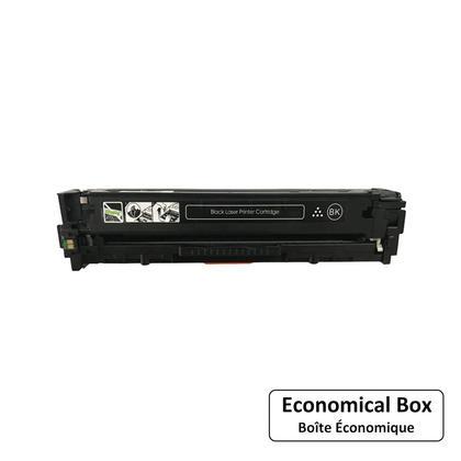 Compatible HP 128A CE320A Black Toner Cartridge - Economical Box