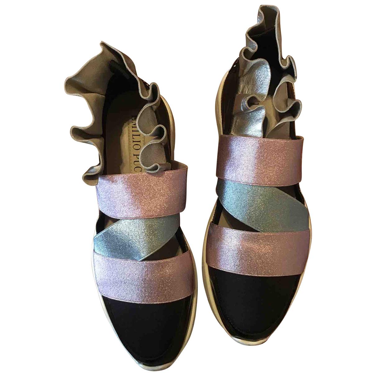 Emilio Pucci - Baskets   pour femme - multicolore