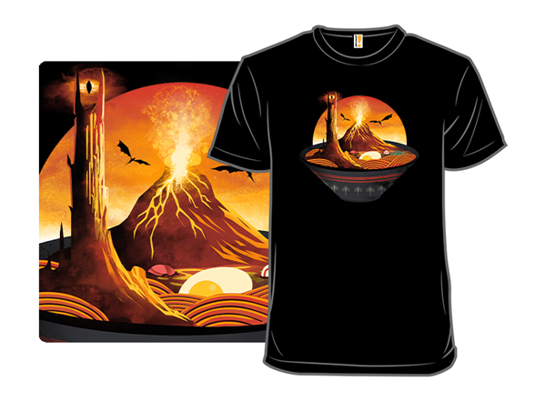 The Realm Of Spicy Ramen T Shirt