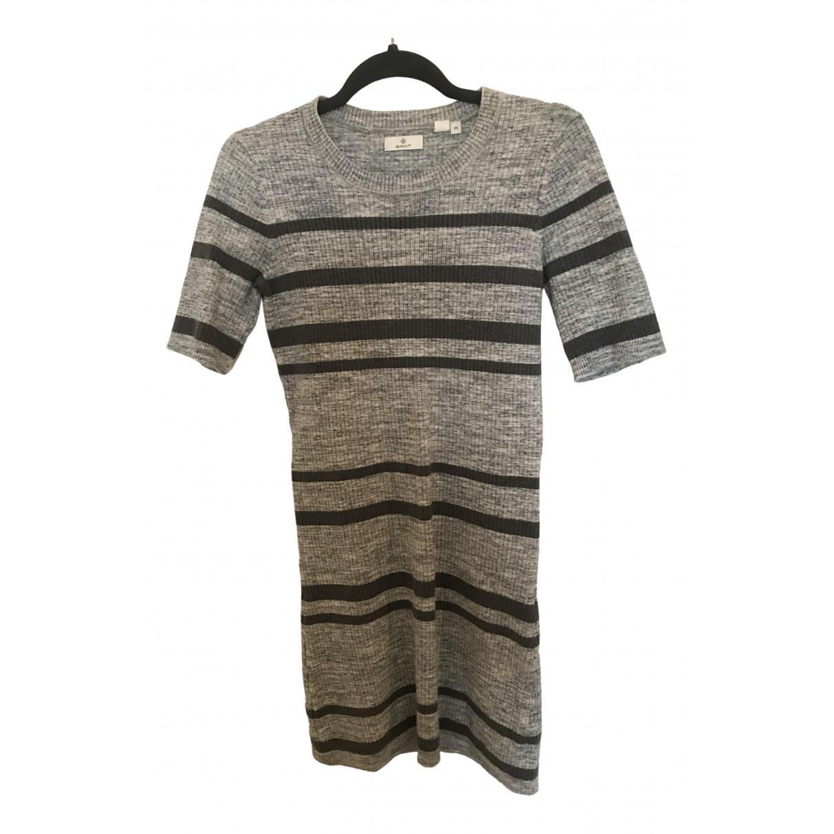 Gant N Grey Cotton dress for Women 8 UK