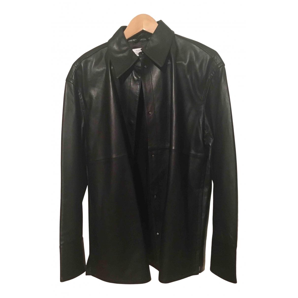 & Stories \N Black Leather jacket for Women 36 FR