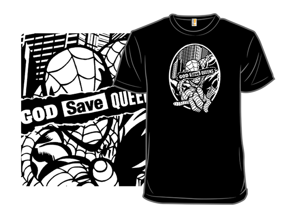 God Save Queens T Shirt