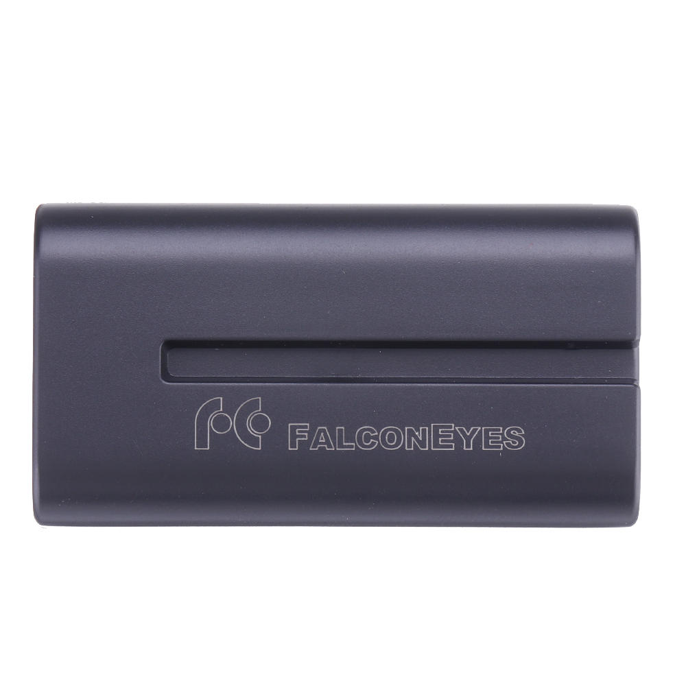 Falconeyes NP-550 7.4V 2300Mah Rechargeable Battery for Video LED Light with Sony NP-F550/NP-F570 Battery Slot