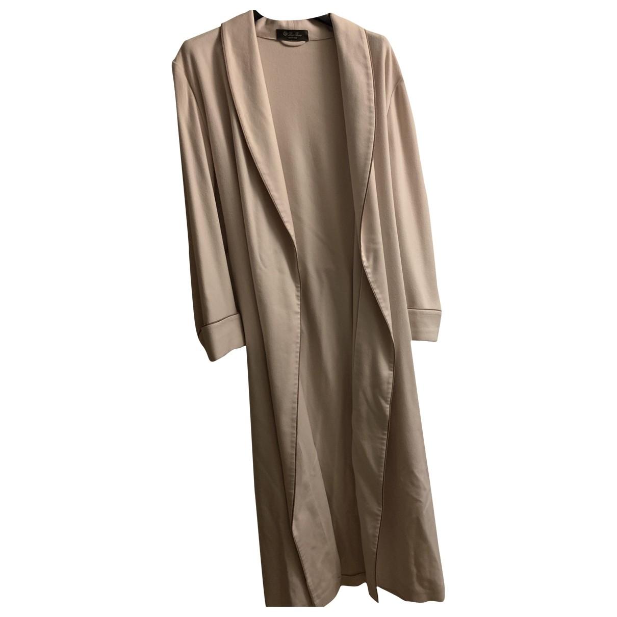 Loro Piana - Pull   pour femme en laine - beige