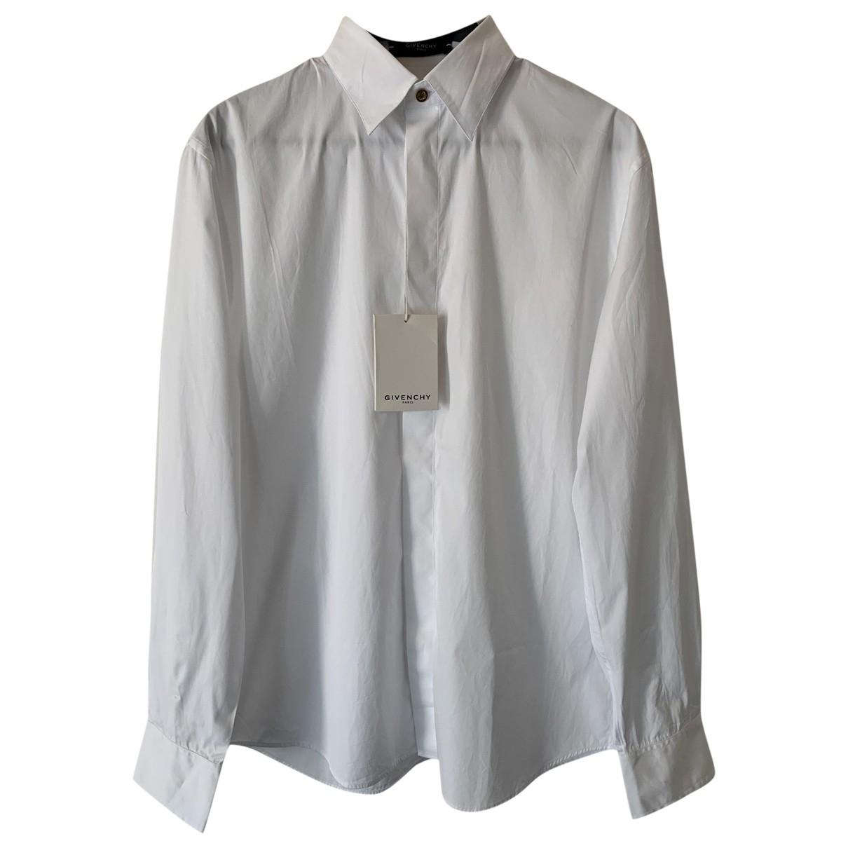 Givenchy - Chemises   pour homme en coton - blanc